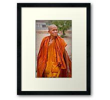 Monk 1 Framed Print