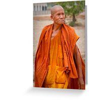 Monk 1 Greeting Card