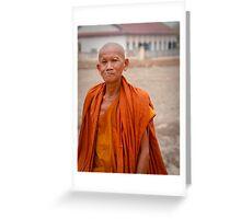 Monk 2 Greeting Card