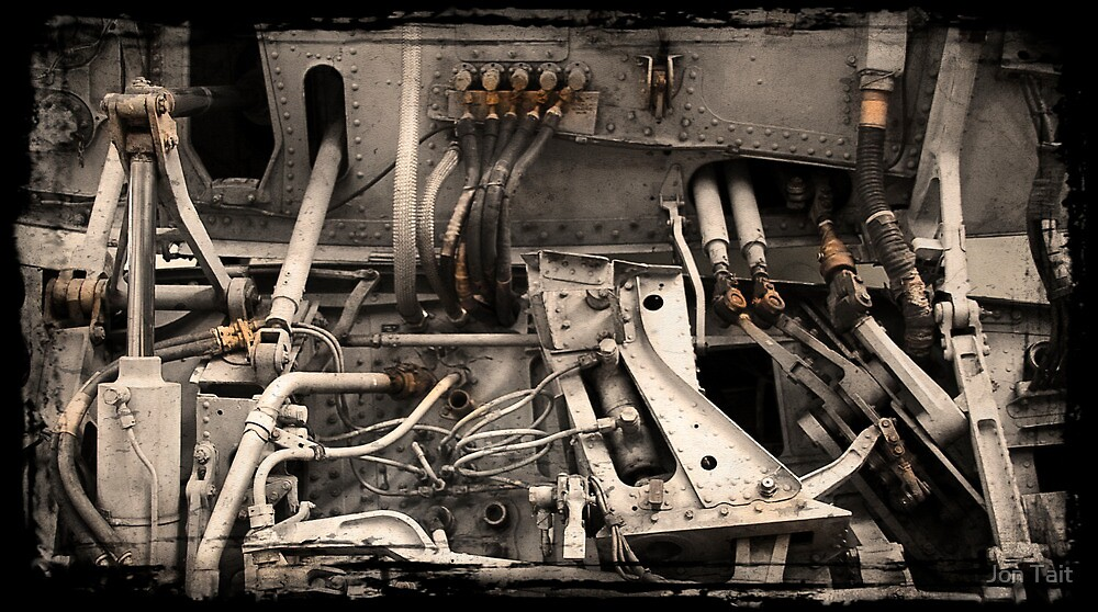 Aircraft Engine Detail by Jon Tait