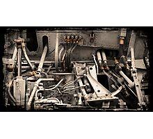 Aircraft Engine Detail Photographic Print