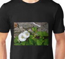 Convolvulus arvensis) or Bindweed Unisex T-Shirt