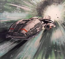 Battlestar Galactica by Antonio  Luppino