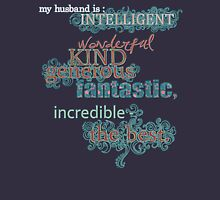 My Husband is... the Best Womens Fitted T-Shirt