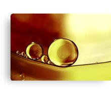 Oil & Water V Canvas Print
