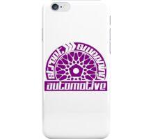 Street Sweeping Automotive Logo Purple iPhone Case/Skin