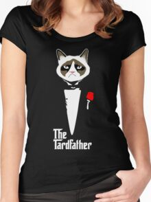 Grumpy Cat The Tardfather Women's Fitted Scoop T-Shirt