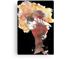 The big blond lady Canvas Print