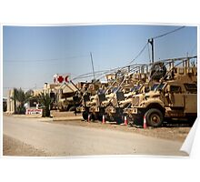 US Army Aide Station Operation Iraqi Freedom Poster