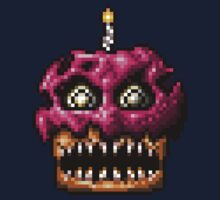 Five Nights at Freddys 4 - Nightmare Cupcake - Pixel art Kids Clothes