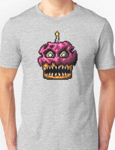 Five Nights at Freddys 4 - Nightmare Cupcake - Pixel art T-Shirt