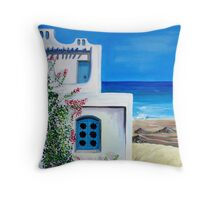 An impression of Djerba Throw Pillow
