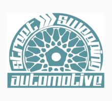 Street Sweeping Automotive Logo torquoise by chris12677