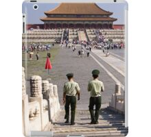 Palace Patrol - Beijing China iPad Case/Skin
