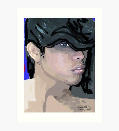 Face Book Friend Art Print