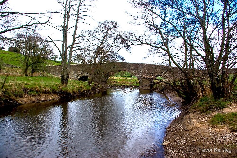 The Bridge at Semer Water - Yorks Dales. by Trevor Kersley