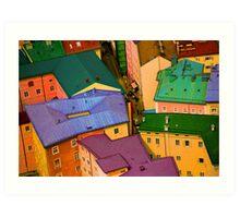Rooftops - Austria Art Print