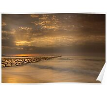 Sunrise at Carrer La Mar Poster