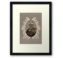 The King that should have been Framed Print