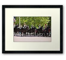 State Opening Of Parliament London Framed Print