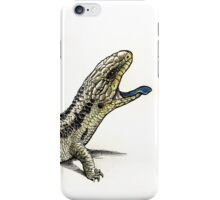 Blue tongue iPhone Case/Skin