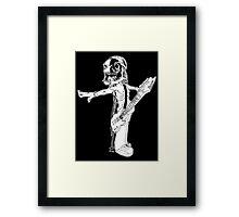 Rock God Framed Print