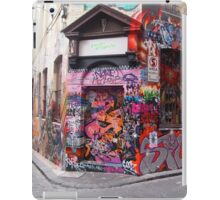 Colourful Melbourne town .. Victoria, Australia iPad Case/Skin