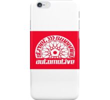 Street Sweeping Automotive Logo red iPhone Case/Skin