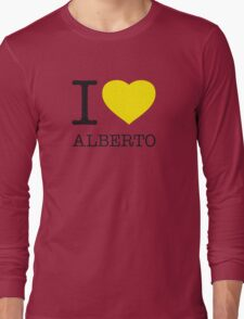 I ♥ ALBERTO Long Sleeve T-Shirt