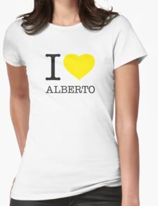 I ♥ ALBERTO Womens Fitted T-Shirt