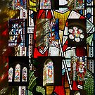 Stained Glass Collage by Merice  Ewart-Marshall - LFA