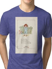 Mother Goose or the Old Nursery Rhymes by Kate Greenaway 1881 0043 Little Tom Tucker Tri-blend T-Shirt