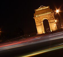 India Gate by indianbsakthi