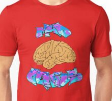 Mad Genius Brain Unisex T-Shirt