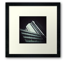 ..: right angle :.. Framed Print