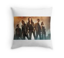 The Mortal Instruments Characters Throw Pillow