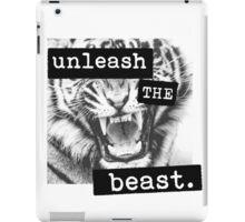 Unleash the Beast iPad Case/Skin