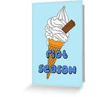 Riot Season, Summer Love Greeting Card