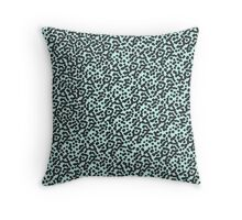 Particles Design Pattern Throw Pillow