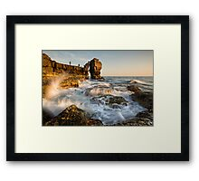 Fishing Pulpit Rock  Framed Print