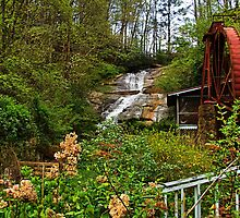 Sylvan Falls and Mill by Janie Oliver