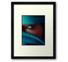 One of the most wonderful things in nature is the glance of the eye; it transcends speech; it is the bodily symbol of identity. Framed Print
