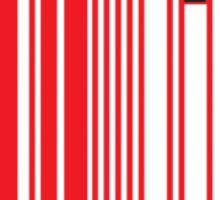 Sheeple Red Bar Sticker