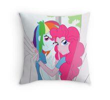 EQG RainbowPie - Shush... Throw Pillow