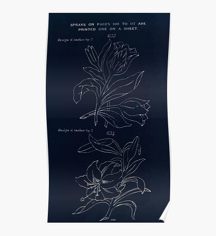 Briggs & Company Patent Transferring Papers Kate Greenaway 1886 0110 Inverted Poster