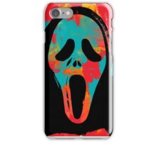 Ghost Face PoP iPhone Case/Skin