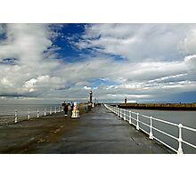 Along The West Pier, Whitby Photographic Print
