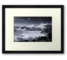 Forces Of Nature II Framed Print