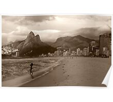 Storm Rolling into Rio Poster