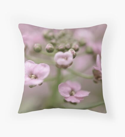April is a promise that May is bound to keep. Throw Pillow